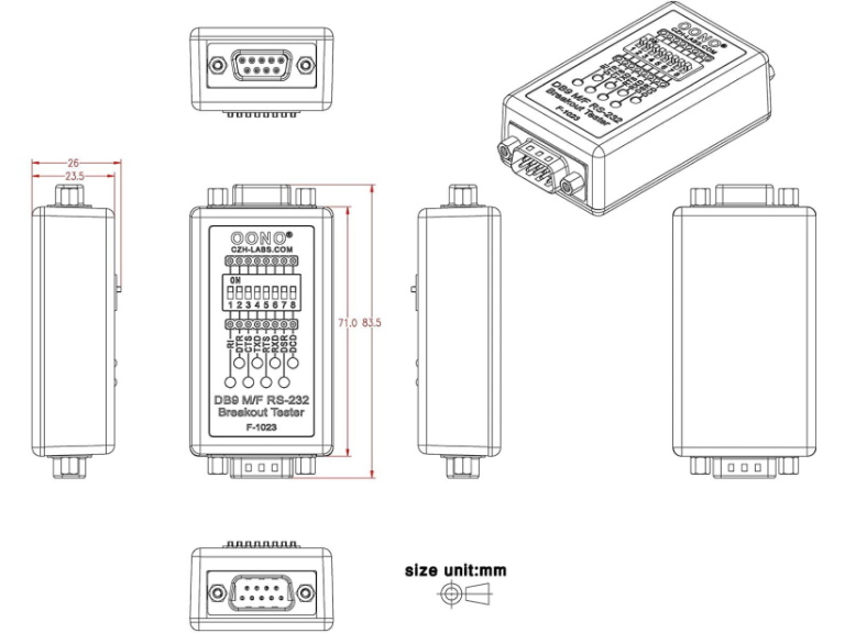 Oono RS232 Check Tester Overview